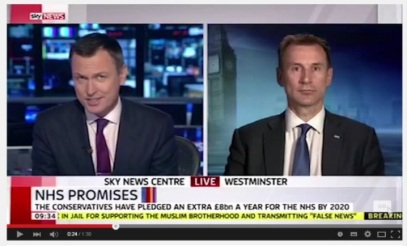 NHS unfunded promises