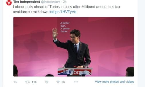 Labour pulls ahead